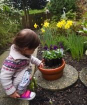 gardening with kids on the west coast
