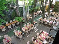 Off the beaten tourist track, this multidisciplinary arts centre and cinema is known for its leftfield documentaries, shorts, gay repertoire and productions fro Paris Nice, Paris 14eme, Restaurant Paris, Paris Restaurants, Lyon, Resto Paris, Outdoor Cafe, Paris Shopping, Rooftop Bar