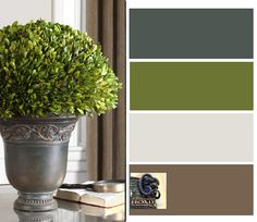 Tuscan Decorating Neutrals.. colors drawn from nature.. Find unique containers at Accents of Salado.
