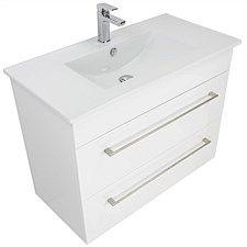 Vanities and Storage - Newtech Citi Wall-Hung Vanity Wall Hung Vanity, Basin Mixer, Drawers, Cabinet, Vanities, Bathroom, Storage, Clothes Stand, Washroom