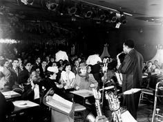 Charlie Parker at The Royal Roost [1580 Broadway, New York City] 11th December 1948