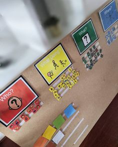 Colourful Semantics, Writing Activities, Display, Children, Simple, School, Color, Instagram, Colour