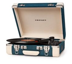 Crosley Crosley Executive Platenspeler - Blue / Cream