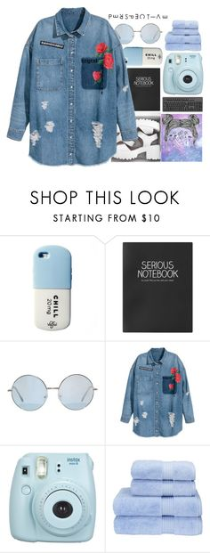 """Regret"" by potato-13 ❤ liked on Polyvore featuring Topshop, Fujifilm and Christy"
