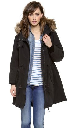 madewell, traditional parka