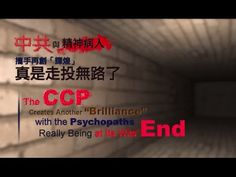"""The CCP Creates Another """"Brilliance"""" with the Psychopaths Really Being a..."""