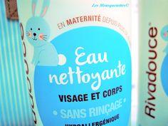 Eau Nettoyante - Rivadouce Bébé - Les Mousquetettes© #rivadoucebébé #bébé #baby #soinbébé #blogspot #beauty #beauté #blogbeauté #beautyblog #concours #jeuconcours