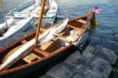 1917 Old Town Canoe with sail rig