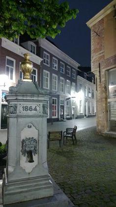 Pomp, Gouvernementsplein, Bergen op Zoom, Noord-Brabant.