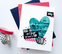 Falling Into Cardmaking: Ellen Hutson Pin-Sight Challenge Guest Step Cards, We R Memory Keepers, Paper Punch, Card Tags, Paper Cards, Stamping Up, Cool Cards, Tag Art, Clear Stamps