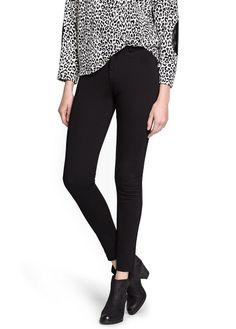 Super-slim stretch trousers