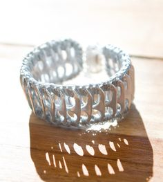 Patra pop can ring pull cuff/bracelet