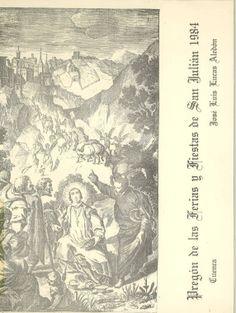San Julián 1984 Publicación con el pregón de la Feria y Fiestas de San Julián 1984, pronunciado por José Luis Lucas Aledón