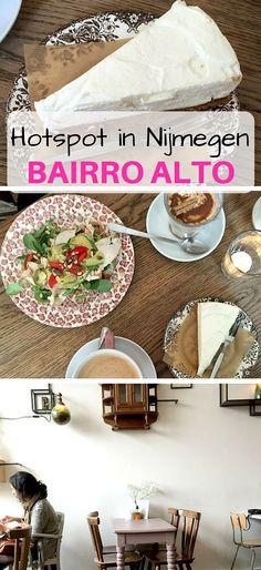 Mijn nummer 1 hotspot in Nijmegen!! Bairro Alto heeft goddelijke taartjes en de lekkerste koffie van Nijmegen.