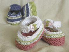 Bethanys Booties~ Loom Knitting Pattern