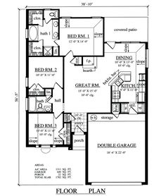 Single Story Duplex With Garage Duplex And Townhouse