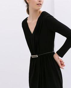 Image 5 of V-NECK KNIT DRESS from Zara