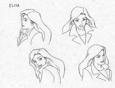 Elisa Maza Model sheet Character design by Greg Guler Character Model Sheet, Character Modeling, Character Concept, Character Art, Gargoyles Characters, Gargoyles Cartoon, Disney Gargoyles, Character Design Animation, Character Design References