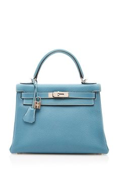 Hermes 28Cm Blue Jean Togo Leather Retourne Kelly by Heritage Auctions Special Collection for Preorder on Moda Operandi