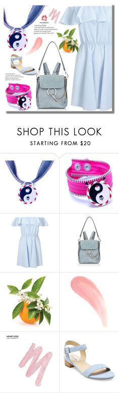 """Macadamia Jewels 22"" by edita-n ❤ liked on Polyvore featuring Miss Selfridge, Chloé, Urban Decay and Steve Madden"