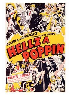 Hellzapoppin (Broadway) posters for sale online. Buy Hellzapoppin (Broadway) movie posters from Movie Poster Shop. We're your movie poster source for new releases and vintage movie posters. Broadway Posters, Musical Theatre Broadway, Movie Posters, Theatre Posters, Theater, Vintage Movies, Vintage Posters, Vintage Images, Scream