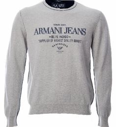 Grey Sweatshirt, Graphic Sweatshirt, Armani Jeans, Printed Sweatshirts, Long Sleeve, Sleeves, Sweaters, Crew Neck, Blue