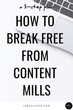 If you're new to freelance writing you may have heard other writers warn you about content mills. But do you know how to spot them in order to steer clear? Writing Goals, Writing Styles, Writing A Book, Writing Tips, Writing Prompts, Online Writing Jobs, Freelance Writing Jobs, Make Money Writing, Writers Write