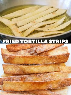 5-Minute Fried Tortilla Strips (two ways) - New Mexican Foodie