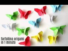 Lavoretti di primavera: volo di farfalle origami - Alessia, scrap & craft...Alessia, scrap & craft…