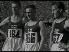1936 Berlin Olympics - Finnish Triple Win 10000 Meter Run Berlin Olympics, Leni Riefenstahl, Summer Games, Olympia, Running, Youtube, Sports, Racing, Hs Sports