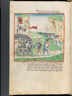 Bern, Burgerbibliothek, Mss.h.h.I.1, f. 416 – Diebold Schilling, Amtliche Berner Chronik, vol. 1
