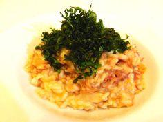 Risoto de Abóbora com Carne Seca e Crispy de Couve