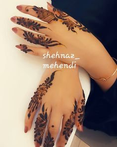 Fresh And Latest Mehandi Designs Pretty Henna Designs, Modern Henna Designs, Latest Henna Designs, Floral Henna Designs, Mehndi Designs Feet, Finger Henna Designs, Beginner Henna Designs, Bridal Henna Designs, Mehndi Designs For Fingers