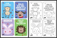 Free Spanish Printable Valentine's Day Cards   Living Mi Vida Loca