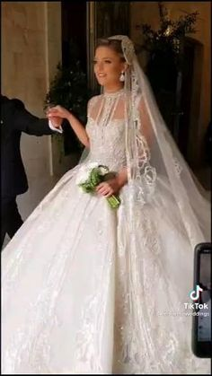 Elie Saab's Daughter-in-law's Wedding with Elie Saab himself working his own magic by Lebanese Wedding Tiktok Lebanese Wedding, Daughter In Law, Tie The Knots, Elie Saab, Magic, Wedding Dresses, Fashion, Tying The Knots, Bride Dresses