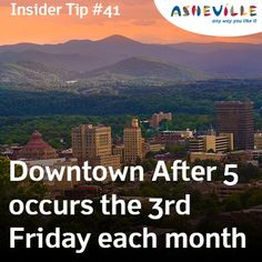 Asheville Insider Tip: Don't Miss Asheville's Hottest Street Festival, Downtown After 5
