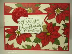 handmade by Julia Quinn  -    Independent Stampin' Up! Demonstrator: Home for Christmas DSP