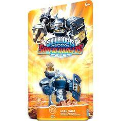 "Skylanders SuperChargers, ""High Volt"", GamePlay Character/Action Figure, for Major Gaming Platform"