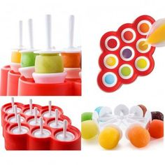 GUIDE: 22 BPA-free popsicle molds for making all kinds of delicious homemade popsicles Popsicle Molds, Popsicle Recipes, Make All, Food To Make, Homemade Popsicles, Homemade Ice, Organic Cooking, Ice Ice Baby, Ice Pops