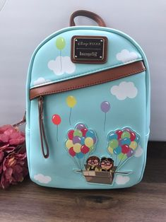 loungefly Disney Pixar Up Mini Backpack Cute Disney Outfits, Disney Themed Outfits, Disney Handbags, Disney Purse, Disneyland Backpack, Mochila Kanken, Cute Mini Backpacks, Kawaii Bags, Back Bag