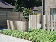 Completed Projects by Jonas Dhoore Modern Landscaping, Backyard Landscaping, Fence Design, Garden Design, Landscape Architecture, Landscape Design, Garden Dividers, Front Yard Fence, Garden Deco
