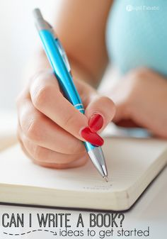 """I have asked myself over and over again """"Can I Write A Book?"""" It is scary to think about writing a book. What if no one reads it? Here are some ideas to think about before getting started."""