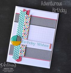 another fun card made with the PLxSU pocket cards