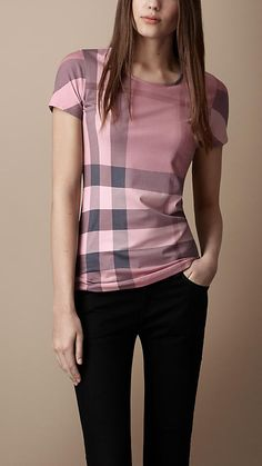 Classy Work Outfits, Classy Casual, Cool Outfits, Casual Outfits, Fashion Outfits, Burberry Shirt Women, Burberry Outfit, Beachwear Fashion, Pinterest Fashion