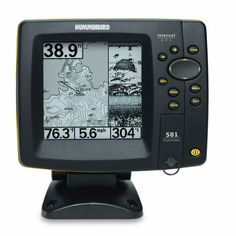 Humminbird 581i 5-Inch Waterproof Marine GPS and Chartplotter with Sounder at http://suliaszone.com/humminbird-581i-5-inch-waterproof-marine-gps-and-chartplotter-with-sounder/