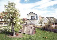 Ruimte besparen doe je gewoon door het huis bovenop de garage te bouwen Roomed | roomed.nl