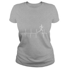 Running - Heartbeat - Womens Tri-Blend V-Neck T-shirt  #gift #ideas #Popular #Everything #Videos #Shop #Animals #pets #Architecture #Art #Cars #motorcycles #Celebrities #DIY #crafts #Design #Education #Entertainment #Food #drink #Gardening #Geek #Hair #beauty #Health #fitness #History #Holidays #events #Home decor #Humor #Illustrations #posters #Kids #parenting #Men #Outdoors #Photography #Products #Quotes #Science #nature #Sports #Tattoos #Technology #Travel #Weddings #Women