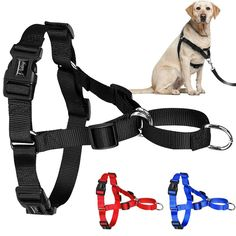 No Pull Front Leading Easy Walk Dog Harness-KaboodleWorld