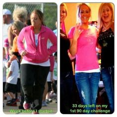 Another awesome success story thanks to the Visalus 90 day challenge!!! So inspirational :D