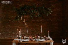 Industrial Winter Wedding / Nuntă industrială de iarnă - Sedință foto inspirațională - PAPIRA Industrial Wedding, Destination Wedding Photographer, Wedding Styles, Table Settings, Bucharest, Table Decorations, Bride, Winter, Frames